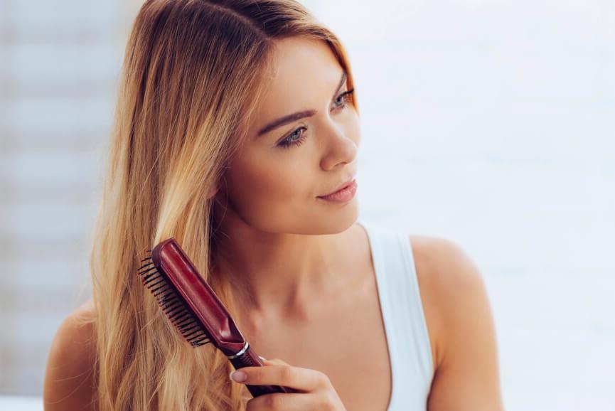 blonde-brushing
